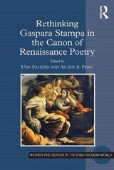 Rethinking Gaspara Stampa in the Canon of Renaissance Poetry |  |