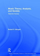 Music Theory, Analysis, and Society