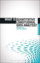 What is Quantitative Longitudinal Data Analysis? | Vernon Gayle; Paul Lambert |