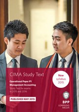 CIMA P1 Management Accounting | Bpp Learning Media |