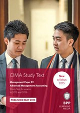 CIMA P2 Advanced Management Accounting | Bpp Learning Media |