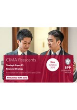CIMA - F3: Financial Strategy | Bpp Learning Media |