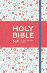 NIV Thinline Floral Cloth Bible | New International Version |