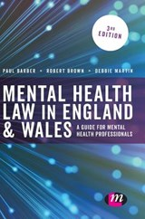 Mental Health Law in England and Wales | Paul Barber |