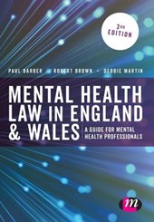 Mental Health Law in England and Wales | Robert Brown |