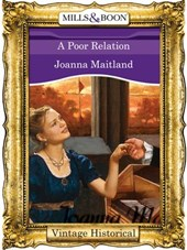 A Poor Relation (Mills & Boon Historical)
