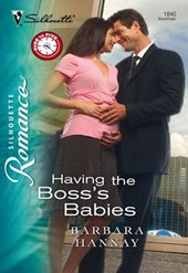 Having the Boss's Babies (Mills & Boon Silhouette) | Barbara Hannay |