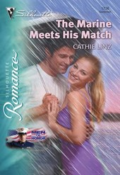 The Marine Meets His Match (Mills & Boon Silhouette) | Cathie Linz |