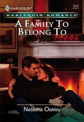 A Family To Belong To (Mills & Boon Cherish)