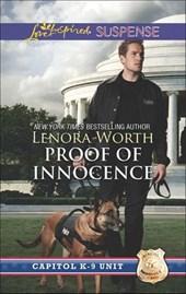 Proof of Innocence (Mills & Boon Love Inspired Suspense) (Capitol K-9 Unit, Book 6)