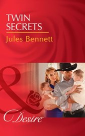 Twin Secrets (Mills & Boon Desire) (The Rancher's Heirs, Book 1)