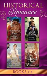 Historical Romance Books 1 - 4: The Harlot and the Sheikh (Hot Arabian Nights, Book 3) / The Duke's Secret Heir / Miss Bradshaw's Bought Betrothal / Sold to the Viking Warrior (Mills & Boon e-Book Col | Marguerite Kaye ; Sarah Mallory ; Virginia Heath ; Michelle Styles |