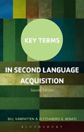 Key Terms in Second Language Acquisition | Bill VanPatten |