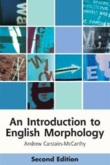 Introduction to English Morphology | Andrew Carstairs-McCarthy |
