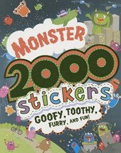 Monster 2000 Stickers
