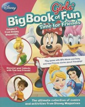 Disney Girls' Big Book of Fun Time for Friends