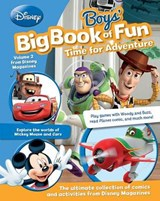 Disney Boys' Big Book of Fun Time for Adventure | Parragon Books |