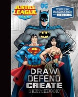 Justice League Draw Defend Create Sketchbook |  |