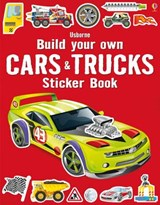 Build Your Own Cars and Trucks Sticker Book | Simon Tudhope |