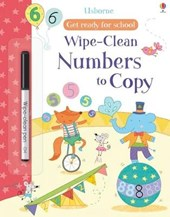 Get Ready For School Wipe-Clean Numbers to Copy