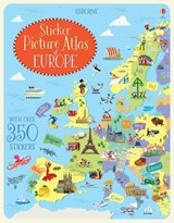 Sticker picture atlas of europe | Jonathan Melmoth |