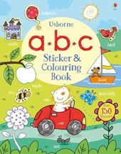 ABC Sticker and Colouring Book | Jessica Greenwell |