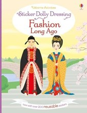 Sticker Dolly Dressing Fashion Long Ago