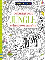 Colouring book jungle with rub-down transfers | Sam Smith |