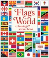 Flags of the World Colouring & Sticker Book | Susan Meredith |