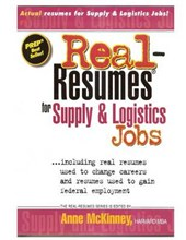 Real-Resumes for Supply & Logistics Jobs