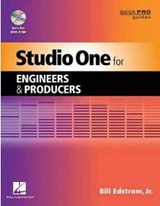 Studio One for Engineers & Producers [With DVD ROM] | Edstrom, William, Jr. |