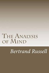 The Analysis of Mind | Bertrand Russell |