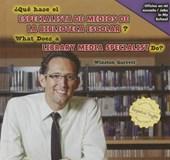 Qué hace el especialista de medios de la biblioteca escolar? / What Does a Library Media Specialist Do?