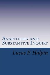 Analyticity and Substantive Inquiry