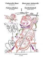 Violoncello Duos for Beginners / Violoncelloduos fur Anfanger / Duos our violoncelle pour les premiers pas / Gordonkaduok kezdok szamara
