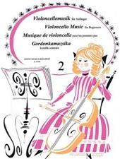 Violoncello Music for Beginners - Volume
