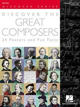 Discover the Great Composers (Set of 24 Posters) | Hal Leonard Publishing Corporation |