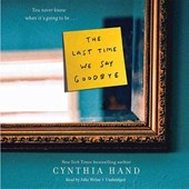 The Last Time We Say Goodbye | Cynthia Hand |