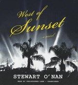 West of Sunset | Stewart O'nan |