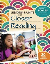 Lessons & Units for Closer Reading