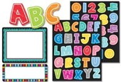 Colorful Chalkboard Stickers