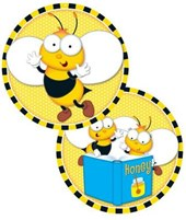 Buzz–worthy Bees Two-sided Decoration