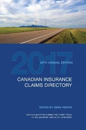 Canadian Insurance Claims Directory