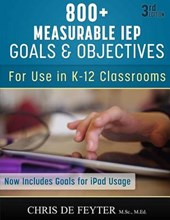 800+ Measurable Iep Goals and Objectives
