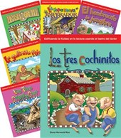 Children's Folk Tales and Fairy Tales 6-Book Spanish Set (Reader's Theater)