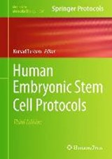 Human Embryonic Stem Cell Protocols |  |