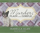 Murder, Plain and Simple | Isabella Alan |