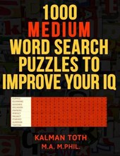 1000 Medium Word Search Puzzles to Improve Your IQ