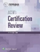 ACSM's Certification Review | American College Of Sports Medicine |