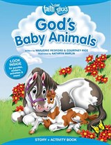 God's Baby Animals Story + Activity Book | Marjorie Redford ; Courtney Rice |